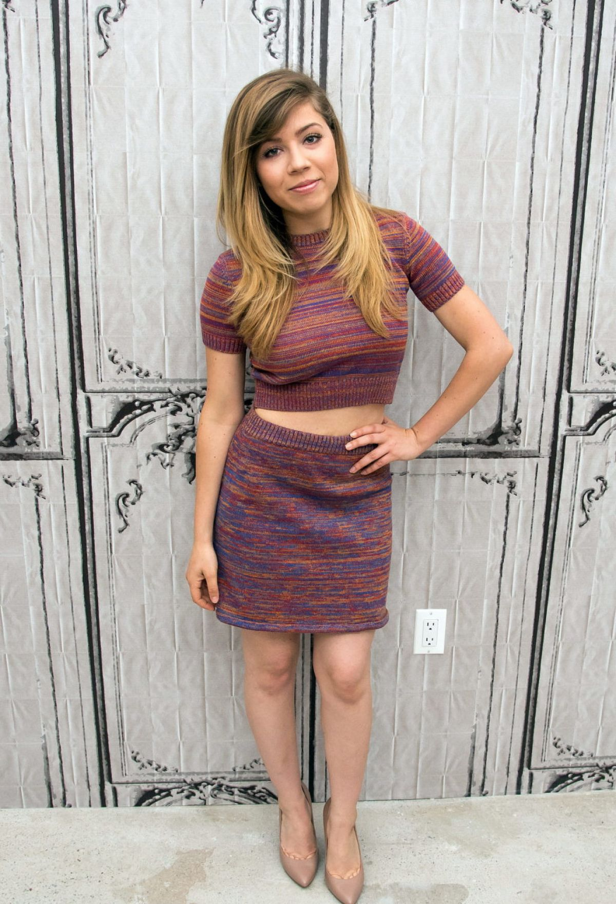 JENNETTE MCCURDY at AOL Build Speaker Series in New York ...