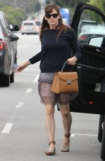 JENNIFER GARNER Out and About in Brentwood 06/06/2015