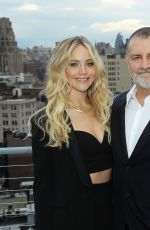 JENNIFER LAWRENCE at Assouline and W Magazine Host an Intimate Dinner in New York