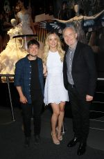 JENNIFER LAWRENCE at The Hunger Games: The Exhibition VIP Event in New York