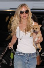 JENNIFER LAWRENCE in Jeans at Los Angeles International Airport