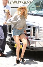JENNIFER LAWRENCE in Jeans SHorts Out in New York 06/10/2015