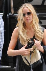 JENNIFER LAWRENCE Out and About in New York 06/28/2015