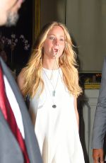 JENNIFER LAWRENCE Out for Dinner in New York 06/24/2015