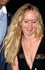 JENNIFER LAWRENCE Out for Dinner in New York 06/26/2015