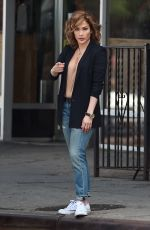 JENNIFER LOPEZ on the Set of Shades of Blue in New York 06/15/2015