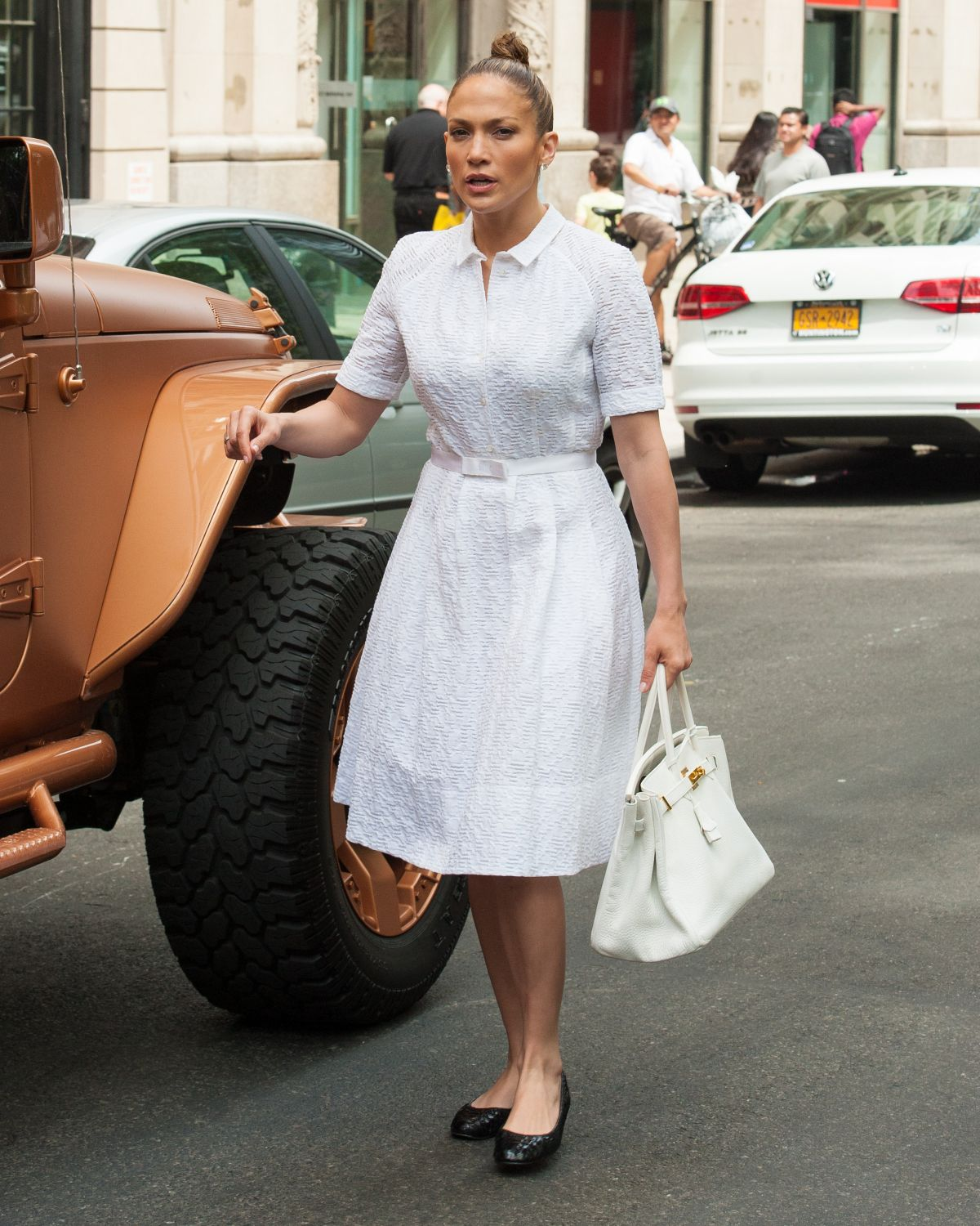 JENNIFER LOPEZ Out and About in New York 06/06/2015
