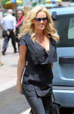 JENNY MCCARTHY Leaves SiriusXM Studios in New York 06/09/2015