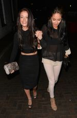 JESS IMPIAZZI Arrives at Club 13 in Guildford 05/31/2015