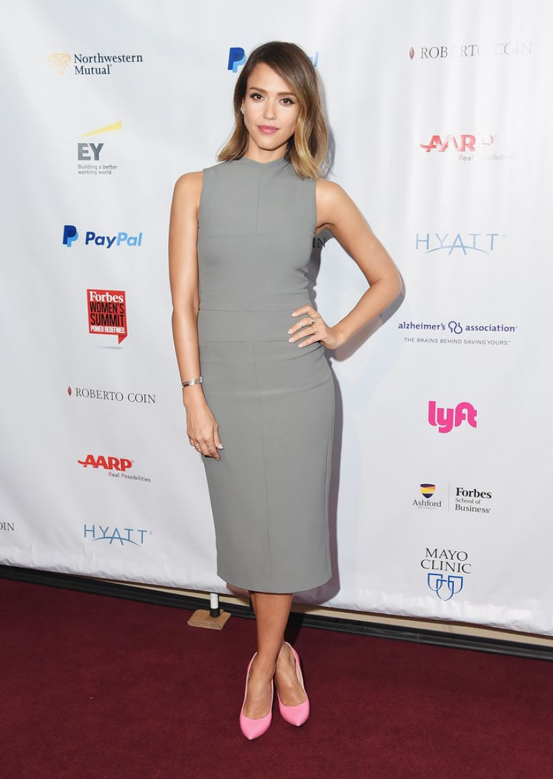 JESSICA ALBA at 2015 Forbes Women