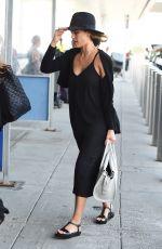JESSICA ALBA JFK Airport in New York 06/12/2015