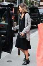 JESSICA ALBA Leaves a Hotel in Soho 06/09/2015
