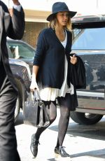 JESSICA ALBA Out and About in New York 06/08/2015