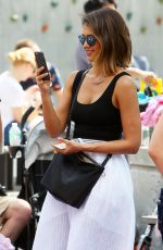 JESSICA ALBA Out and About in New York 06/21/2015
