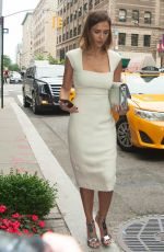 JESSICA ALBA Out and About in New York 06/23/2015