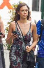 JESSICA ALBA Out and About in Soho 06/23/2015