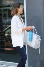 JESSICA ALBA Out and About in West Hollywood 06/16/2015