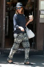 JESSICA ALBA Out in New York 06/24/2015