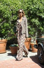 JESSICA ALBA Out Shopping at Eggy in West Hollywood 06/06/2015