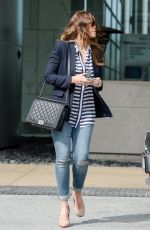 JESSICA BIEL at CAA Offices in Century City 06/13/2015