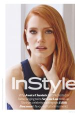 JESSICA CHASTAIN in Instyle Magazine, July 2015 Issue