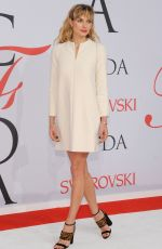 JESSICA HART at CFDA Fashion Awards 2015 in New York