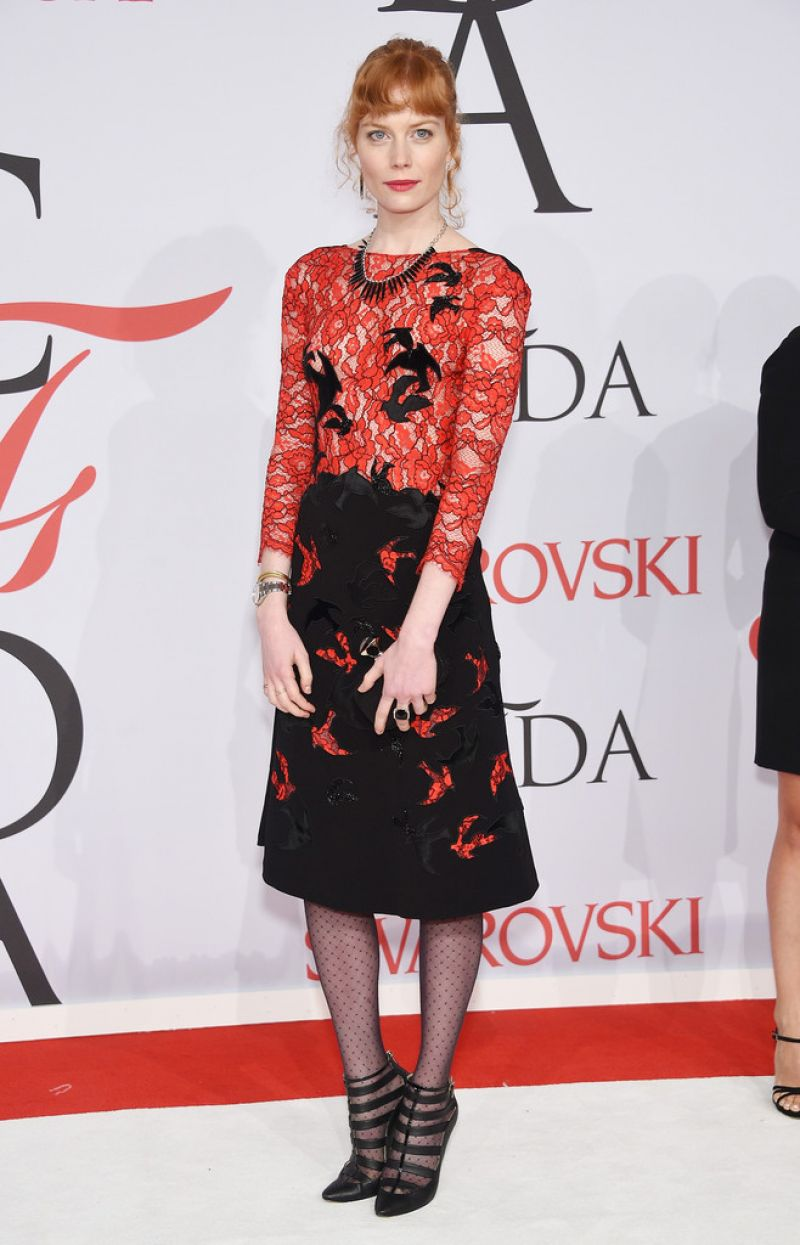 JESSICA JOFFE at CFDA Fashion Awards 2015 in New York