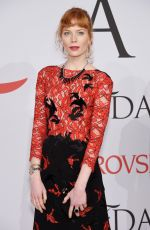 JESSICA JOFFE at CFDA Fashion Awards 2015 in New York
