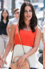 JESSICA LOWNDES Out and About in Beverly Hills 06/26/2015