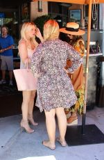 JESSICA SIMPSON at an Italian Restaurant in Beverly Hills 06/24/2015
