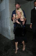 JESSICA SIMPSON Leaves Sawyers Club in Los Angeles 06/02/2015