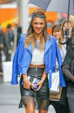 JESSICA SZOHR Out and About in New York 06/02/2015