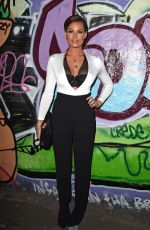 JESSICA WRIGHT at Storm Model Agency Party in London