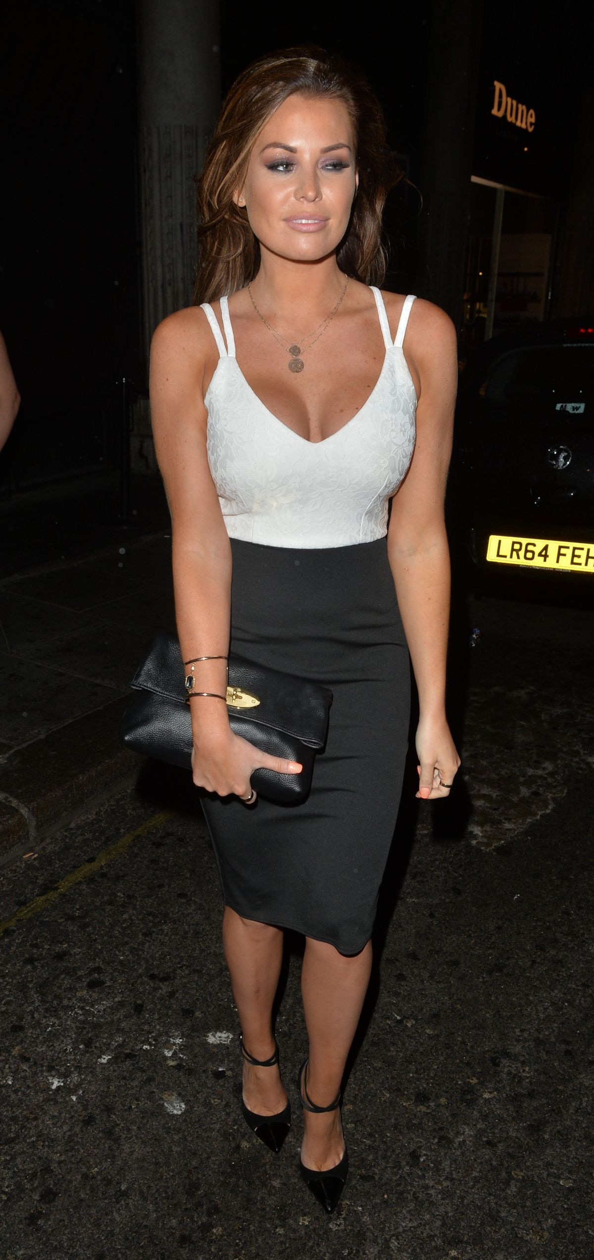 JESSICA WRIGHT Night Out in London 06/14/2015