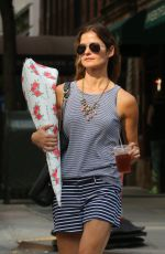 JILL HENNESSY Out Shopping in New York 05/30/2015