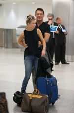 JOANNA KRUPA Arrives at Miami Airport 06/04/2015
