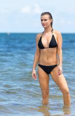 JOANNA KRUPA in Bikini at a Beach in Miami 06/08/2015