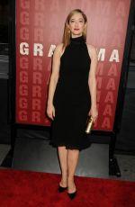 JUDY GREER at Grandma Premiere at 2015 LA Film Festival in Los Angeles