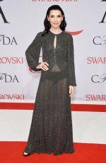 JULIANNA MARQULIES at CFDA Fashion Awards 2015 in New York