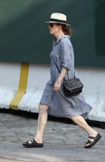 JULIANNE MOORE Out and About in West Village 06/22/2015