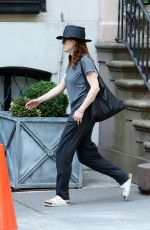 JULIANNE MOORE Out in New York 06/14/2015