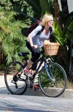 JULIE BOWEN Riding a Bike Put in Los Angeles 060/01/2015