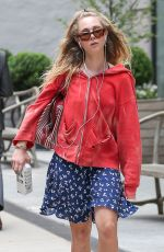 JUNO TEMPLE Out and About in New York 06/17/2015