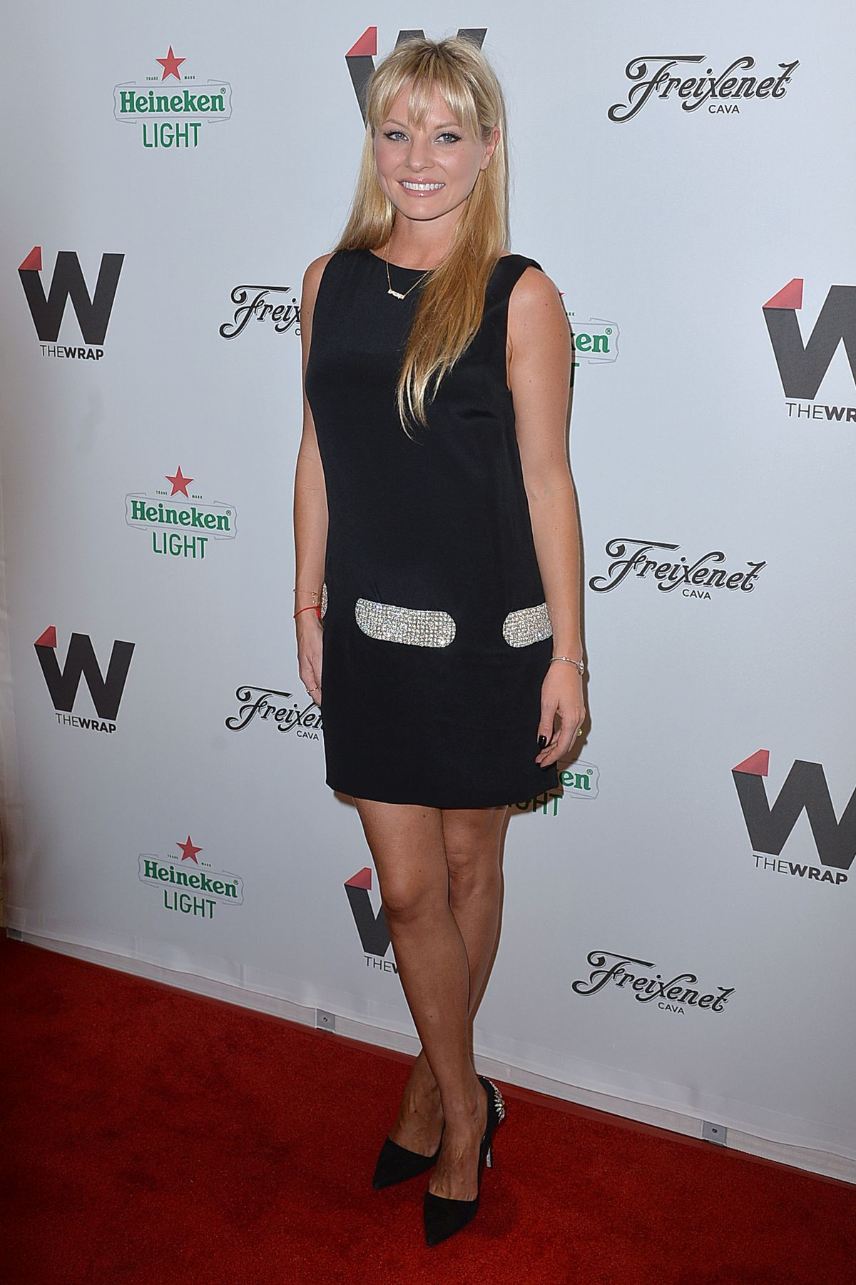 KAITLIN DOUBLEDAY at Thewrap's 2015 Emmy Party in West Hollywood
