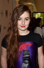 KAITLYN DEVER at Thewarp's 2015 Emmy Party in West Hollywood