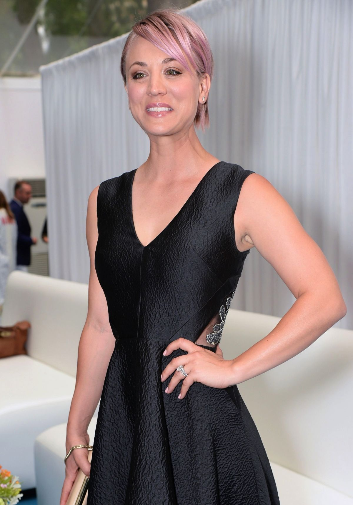 KALEY CUOCO at Glamour Women of the Year Awards in London