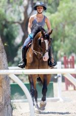 KALEY CUOCO at Horseback Riding in Los Angeles 06/24/2015