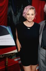 KALEY CUOCO at Longines Masters of Los Angeles Welcoming Event in Hollywood