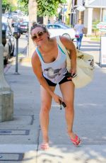 KALEY CUOCO Dropping Her Car Keys After a Yoga Class in Sherman Oaks 06/26/2015