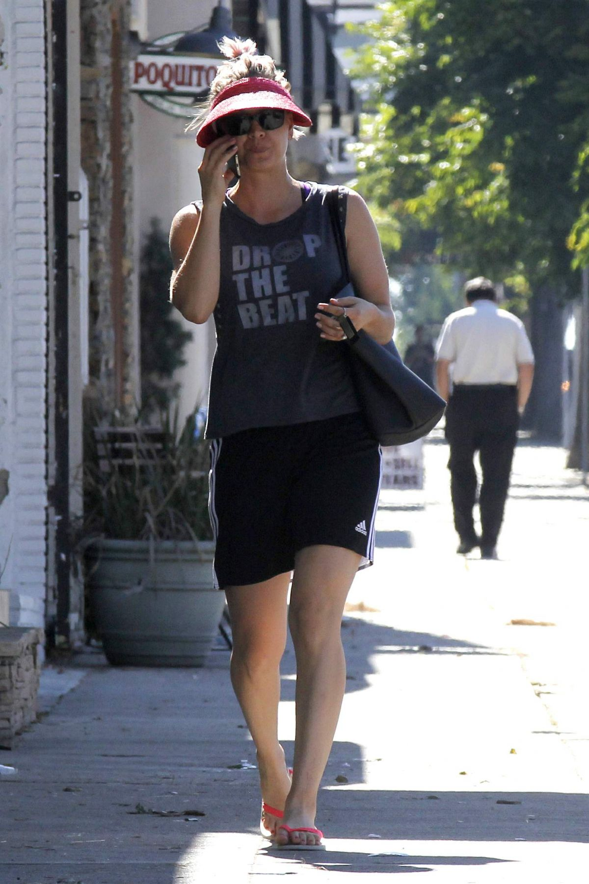 KALEY CUOCO Out and About in Sherman Oaks 06/17/2015